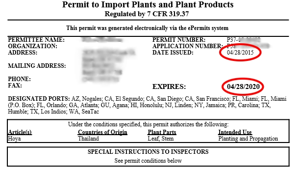HOW TO GET THE IMPORT PERMIT IN USA